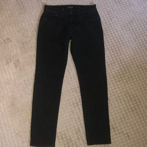 NEW men's lucky 105 slim taper jeans black 30x30